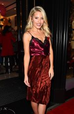 MOLLIE KING at Boux Avenue A/W17 Campaign Launch in London 11/01/2017