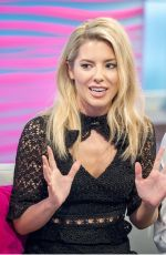 MOLLIE KING at Lorraine Show in London 11/15/2017