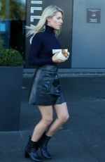 MOLLIE KING Leaves Her Hotel in London 11/25/2017