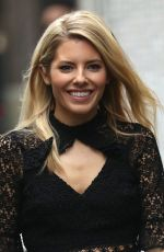 MOLLIE KING and AJ Pritchard Leaves ITV Studios in London 11/15/2017