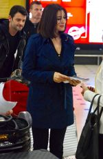 MONICA BELLUCCI Arrives at Airport in Sydney 11/23/2017