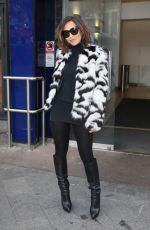MYLEENE KLASS Arrives at Global Radio in London 11/22/2017