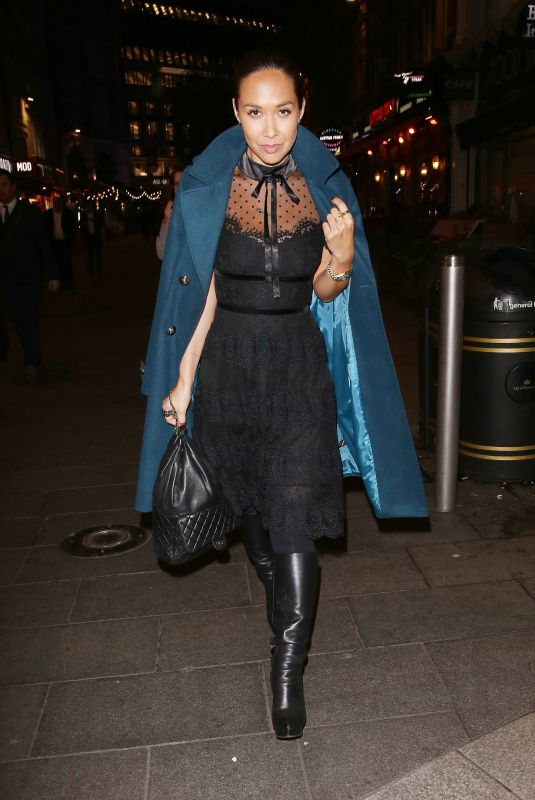 MYLEENE KLASS Out and About in London 11/15/2017