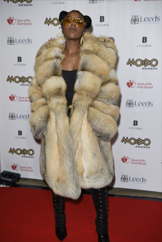 NADIA ROSE at 2017 The Mobo Awards in Leeds 11/29/2017