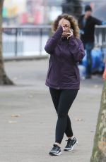 NADIA SAWALHA Out and About in London 11/09/2017