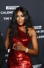 NAOMI CAMPBELL at Pirelli Calendar 2018 by Tim Walker Cocktail Reception and Gala Dinner in New York 11/10/2017