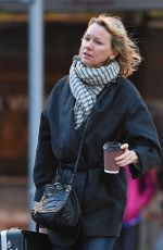 NAOMI WATTS Out and About in New York 10/31/2017