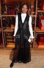 NAOMIE HAARRIS at Louis Vuitton x Vogue Party in London 11/21/2017