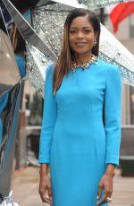NAOMIE HARRIS at Swarovski Star Photocall at Rockefeller Center in New York 11/16/2017