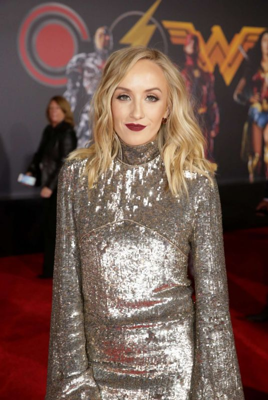 NASTIA LIUKIN at Justice League Premiere in Los Angeles 11/13/2017