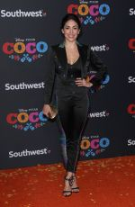 NATALIA CORDOVA-BUCKLEY at Coco Premiere in Los Angeles 11/08/2017