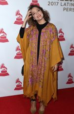 NATALIA LAFOURCADE at 2017 Latin Recording Academy Person of the Year Awards in Las Vegas 11/15/2017