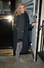 NATALIE DORMER Leaves Theatre Royal Haymarket in London 11/01/2017