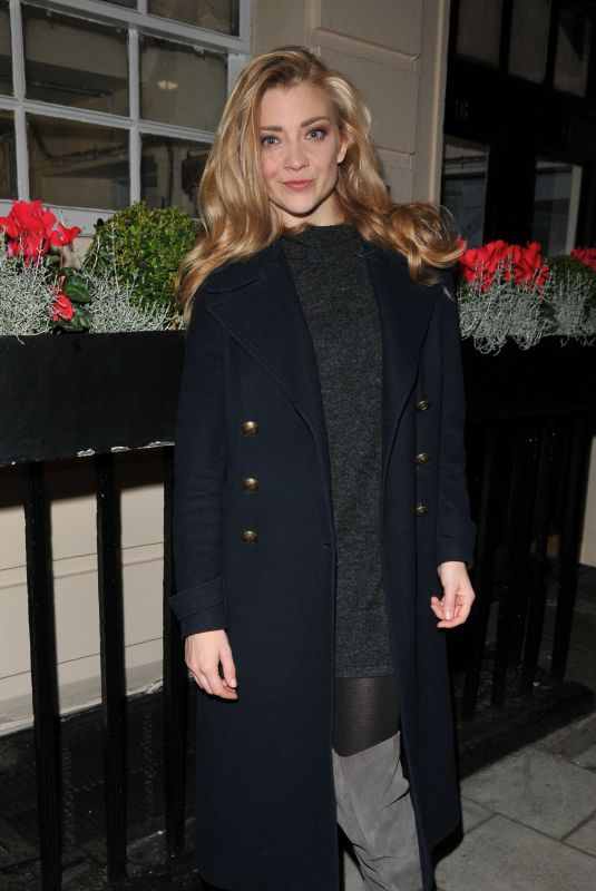 NATALIE DORMER Out in London 10/31/2017