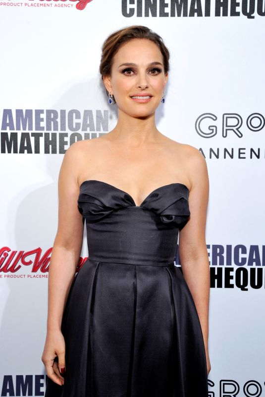 NATALIE PORTMAN at American Cinematheque Awards Gala Honoring Amy Adams in Beverly Hills 11/10/2017