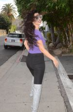 NATASHA BLASICK Out Shopping in Hollywood 11/26/2017
