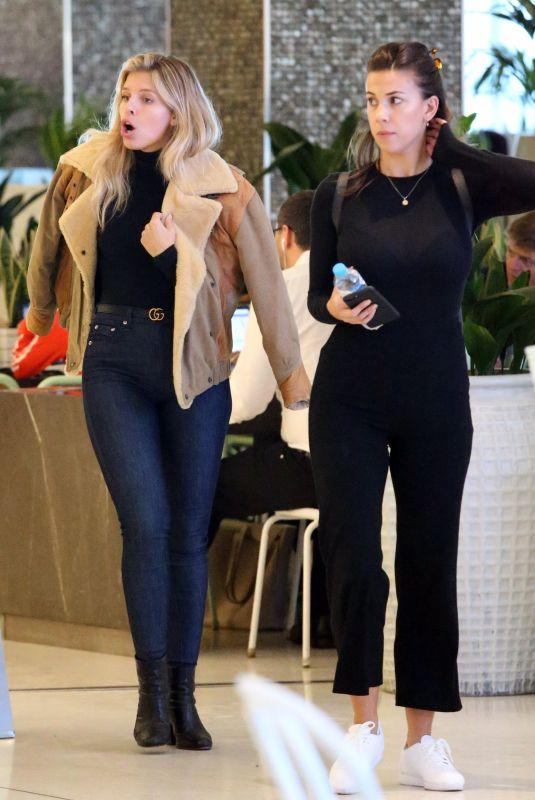 NATASHA OAKLEY and DEVIN BRUGMAN Out Shopping at Bondi Junction 11/06/2017