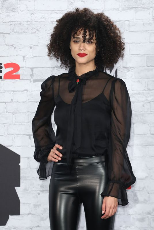 NATHALIE EMMANUEL at 2017 MTV Europe Music Awards in London 11/12/2017