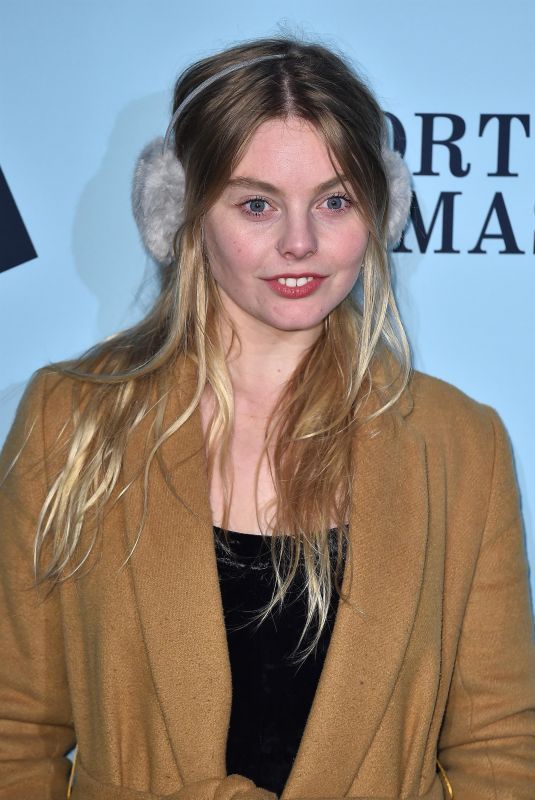 NELL HUDSON at Skate at Somerset House VIP Launch Party in London 11/14/2017