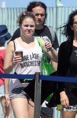 NENA Boarding a Ferry to Rottnest Island in Perth 11/04/2017