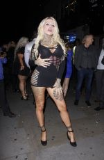 NEVAEH HEAVEN and King Of Ink Land King Body Art The Extreme Ink - Ite at Paul Raymond Awards 2017 in London 11/09/2017