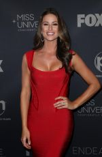NIA SANCHEZ at 2017 Miss Universe Pageant in Las Vegas 11/26/2017