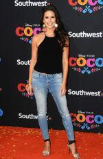 NIA SANCHEZ at Coco Premiere in Los Angeles 11/08/2017