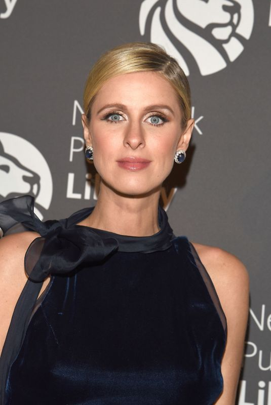 NICKY HILTON at New York Public Library Lions Gala 11/06/2017