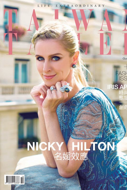 NICKY HILTON in Tatler Magazine, Taiwan October 2017 Issue