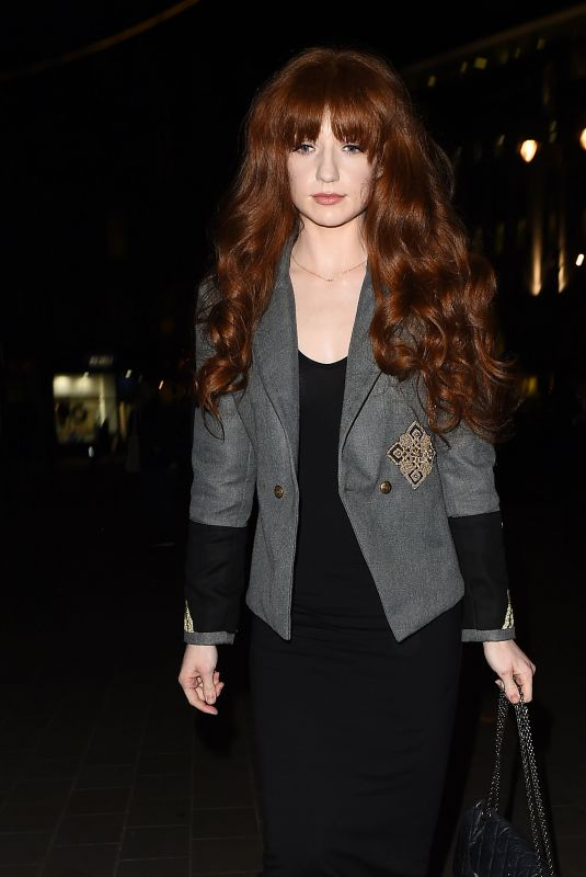 NICOLA ROBERTS at Lotd x Louise Thompson Launch Party in London 11/21/2017