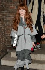 NICOLA ROBERTS Leaves Chiltern Firehouse in London 11/23/2017