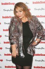 NICOLE BARBER LANE at Inside Soap Awards 2017 in London 11/06/2017
