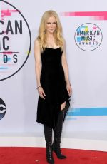 NICOLE KIDMAN at American Music Awards 2017 at Microsoft Theater in Los Angeles 11/19/2017