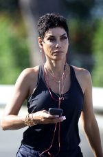 NICOLE MURPHY Heading to a Gym in Santa Monica 11/24/2017