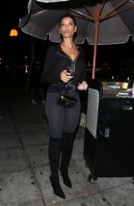 NICOLE MURPHY Leaves Delilah Club in West Hollywood 11/18/2017