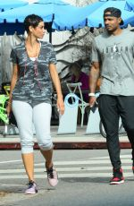 NICOLE MURPHY Out and About in Santa Monica 11/07/2017