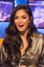 NICOLE SCHERZINGER at Jonathan Ross Show in London 11/11/2017