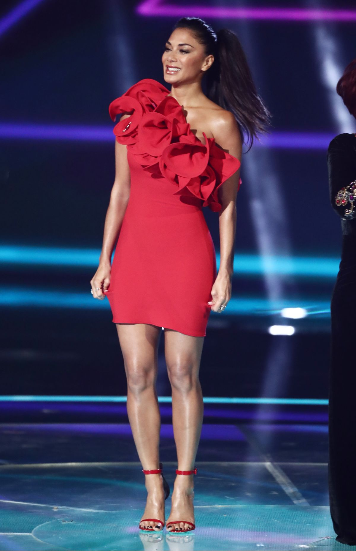 NICOLE SCHERZINGER at The X Factor, Series 14, Episode 19 ... Nicole Scherzinger