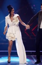 NICOLE SCHERZINGER at X Factor Show in London 11/25/2017