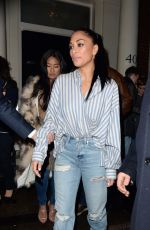 NICOLE SCHERZINGER Leaves Arts Club in London 11/11/2017