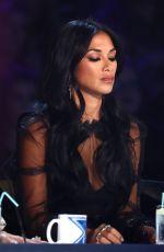 NICOLE SCHERZINGER on the Set of X Factor Show 11/19/2017