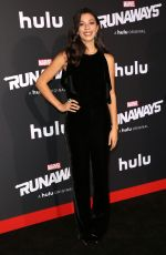 NICOLE WOLF at Runaways Premiere in Los Angeles 11/16/2017