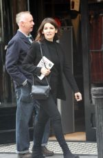 NIGELLA LAWSON Leaves Book Signing at Dubray Book Store in Dublin 11/04/2017