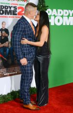 NIKKI BELLA and John Cena at Daddy's Home 2 Premiere in Westwood 11/05/2017