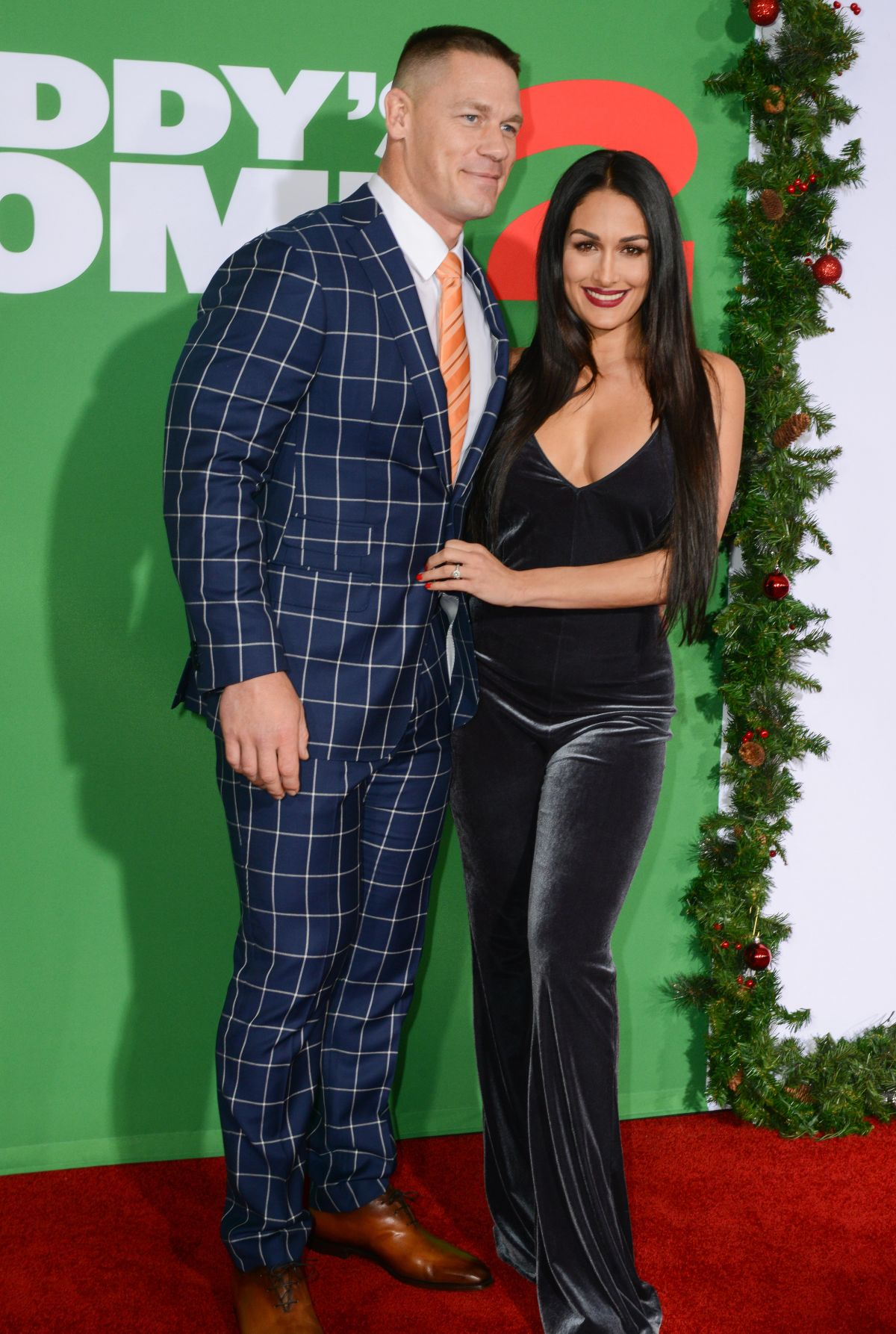 NIKKI BELLA and John Cena at Daddy\'s Home 2 Premiere in Westwood 11 ...