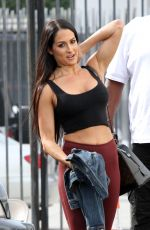 NIKKI BELLA Out in Los Angeles 11/16/2017
