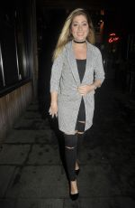 NIKKI SANDERSON Arrives at Skinnea Coffee Launch in Manchester 11/20/2017
