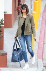 NINA DOBREV Arrives at a Dance Studio in Los Angeles 11/22/2017