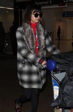NINA DOBREV at Los Angeles International Airport 11/15/2017