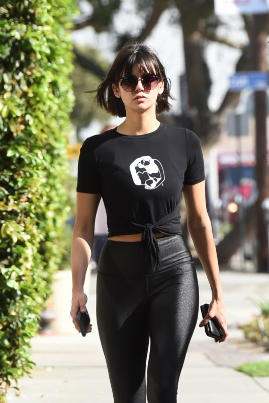 NINA DOBREV Out and About in West Hollywood 11/20/2017